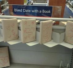 LOVE this idea.  Set a friend up on a blind date with one of your favorite reads!