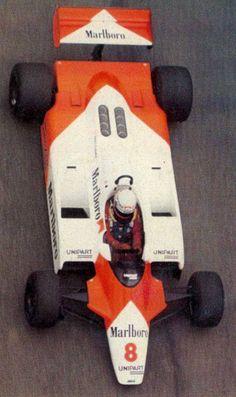 Niki Lauda McLaren MP4 LBGP 1982