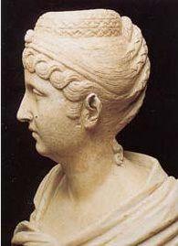 Side view!! Faustina Major, wife of Antoninus Pius,  138-161,    Musei Capitolini, Roma Albani Collection