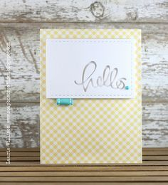Perfect card created by Laurie Willison using  the Simon Says Stamp January 2014