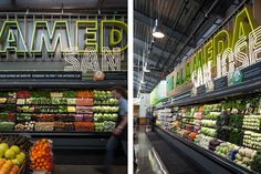 A new store we designed in San Jose, CA. Fabricated by DLE. Opened on December 9, 2014. #grocerydesign #retaildesign