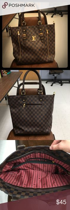 Louis Vuitton look alike purse!! Mint condition!!! Louis Vuitton replica! louis vuitton replica Bags Shoulder Bags