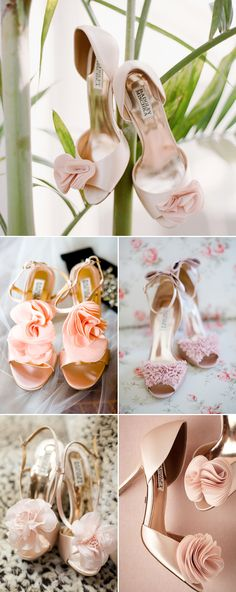 15 Utterly Romantic Pink Wedding Shoes!