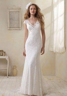 My wedding dress!!!   modern vintage wedding dresses 2012