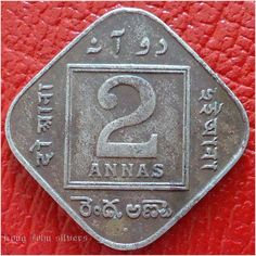 1936 India 2 annas coin KGV Listing in the India,Asia,Coins,Coins & Banknotes Category on eBid United Kingdom