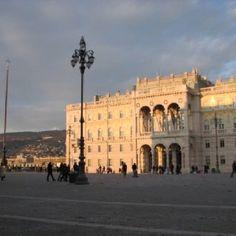 Piazza Unita' al tramonto - Trieste