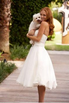 Image detail for -Informal second wedding dresses are often worn by the bride who is ...