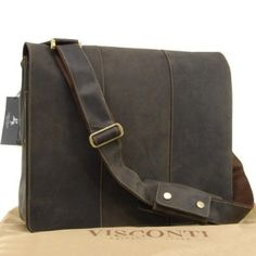 Visconti Extra Large 17 inch Laptop Messenger Bag - Hunter - 16019  Amazon. co 65a0138b6ced2