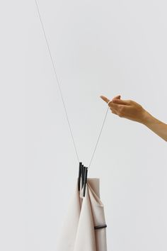 Experimenting with the Ready Made Curtain by Ronan & Erwan Bouroullec