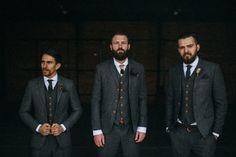 Rustic vintage grooms style | Photo by Jarrod Renaud of The Lantern Room | 100 Layer Cake