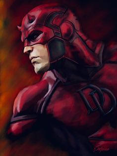 Daredevil by Javi Afonso on ArtStation Marvel Comics - Anime Characters Epic fails and comic Marvel Univerce Characters image ideas tips Marvel Avengers, Marvel Comics Art, Marvel Heroes, Defenders Marvel, Comic Book Characters, Marvel Characters, Fictional Characters, Marvel Universe, Daredevil Artwork