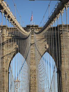 Walk across the Brooklyn Bridge.  For best views, begin the walk on the Brooklyn side and walk towards Manhattan.