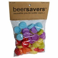 Beer Savers® Homebrew Set (54 pack) Designed to help keep sanitized empty bottles clean until ready to fill.