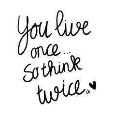think twice #coeurblonde