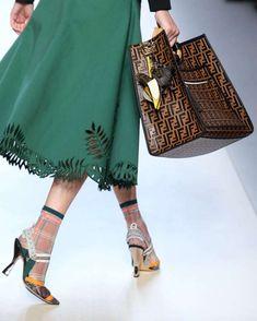 Borse Primavera Estate 2018, Milano Fashion Week - Shopper Fendi