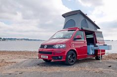 ÜBERBUS build and design contemporary VW Camper Conversions for VW T5 and T6 transporters down on the South coast in Poole, Dorset UK
