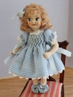 doll by Pilar Calle Miniatures