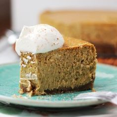 Bourbon Pecan Pumpkin Cheesecake