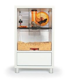 Design rodent house  Cage pour rongeurs Omlet Qute  hamster souris