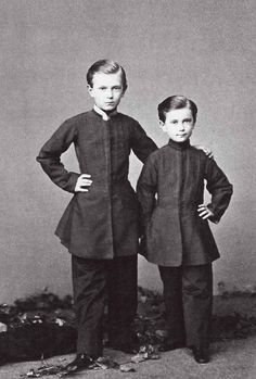 Grand Dukes Sergei and Pavel Alexandrovich