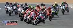 Riders and team managers recount the thrills and spills of the French GP at Le Mans