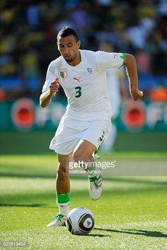 Nadir Belhadj of Algeria