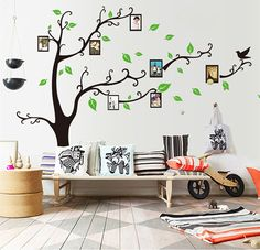 Bestwoohome Removable Art Home Decor Wall Sticker Photo Murals for Living Room…