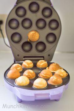 Easy Vanilla Cake Pops Recipe for Babycakes Cake Pops Maker @shilaorah