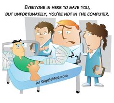Everyone is here to save you, but unfortunately, you're not in the computer.  (been there....)