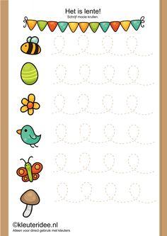 Preschool simple line work Preschool Writing, Preschool Lessons, Preschool Worksheets, Kindergarten Activities, Preschool Activities, Pre Writing, Writing Skills, Activity Sheets, Kids Education