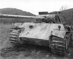 Direct hits of PzKpfw V Panther.