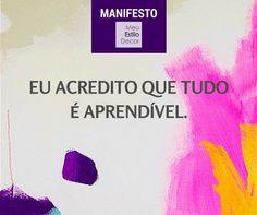 #Decoração pra vida real é isso - Manifesto MeuEstiloDecor