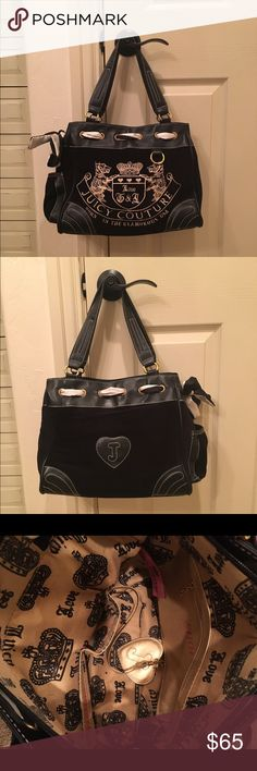 Shop Women s Juicy Couture Black size x Satchels at a discounted price at  Poshmark. Black with gold writing. eb93719c5a