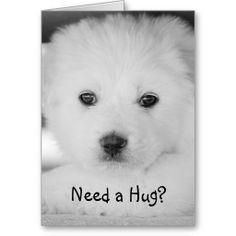 Need a Hug Greeting Card