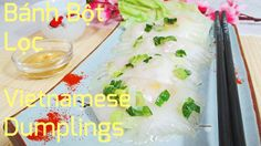 Bánh bột lọc, Vietnamese dumplings with a translucent skin, made from tapioca starch and a caramelised chicken & prawn filling. Great for all occasians, makes for a nice show-off dish at the next dinner : )