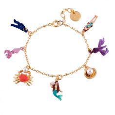 Double bracelet coquillages et écailles