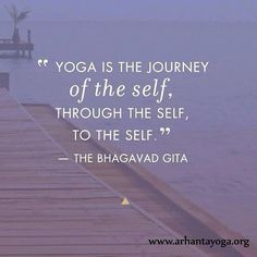 Yoga is the journey. It's not about being in a posture, but flowing through and enjoying the ride