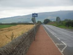 There are a number of designated cycle routes around Crail. Just look out for the signs