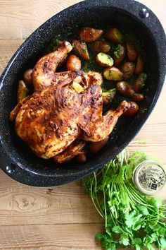 Latin Spice Roast Chicken with Spanish Paprika & Fresh Lime