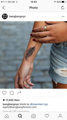 19 Best Tattoos Images Feathers Tiny Tattoo Feather Tattoo Design