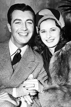 Robert Taylor and Barbara Stanwyck, 1943.