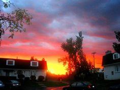 Sunrising near my dad's house- Buffalo, NY