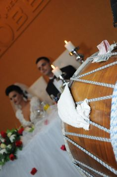 Albanian weddings often include most guests playing music.