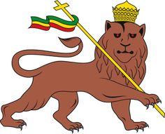 Lion of Judah emblem of the Ethiopian Empire