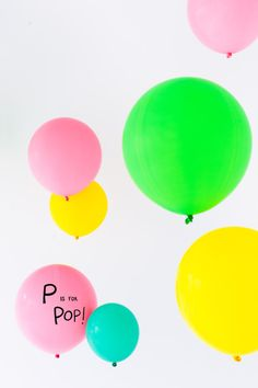 P is for POP!