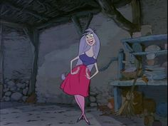 """I can be beautiful, lovely and fair... Silvery voice! Long purple hair.."" - The MAD MAD MAD MAD Madam Mim"