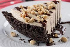 Sinful Peanut Butter Cream Pie | MrFood.com