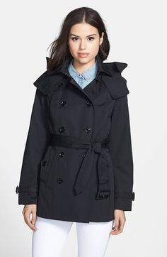 Black Trenchcoat by London Fog. Buy for $88 from Nordstrom