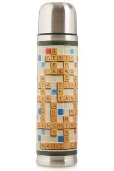 Scrabble Flask
