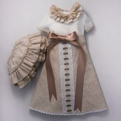 Precioso conjunto en color beige moda infantil #compra #venta #conjunto #bebe #niño #niña #fashion #moda #ropa